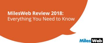 MilesWeb Review 2018