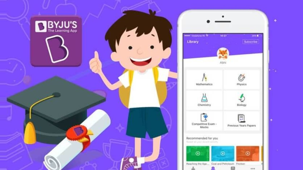 BYJU'S - The Learning App : Fall in Love with learning!- App