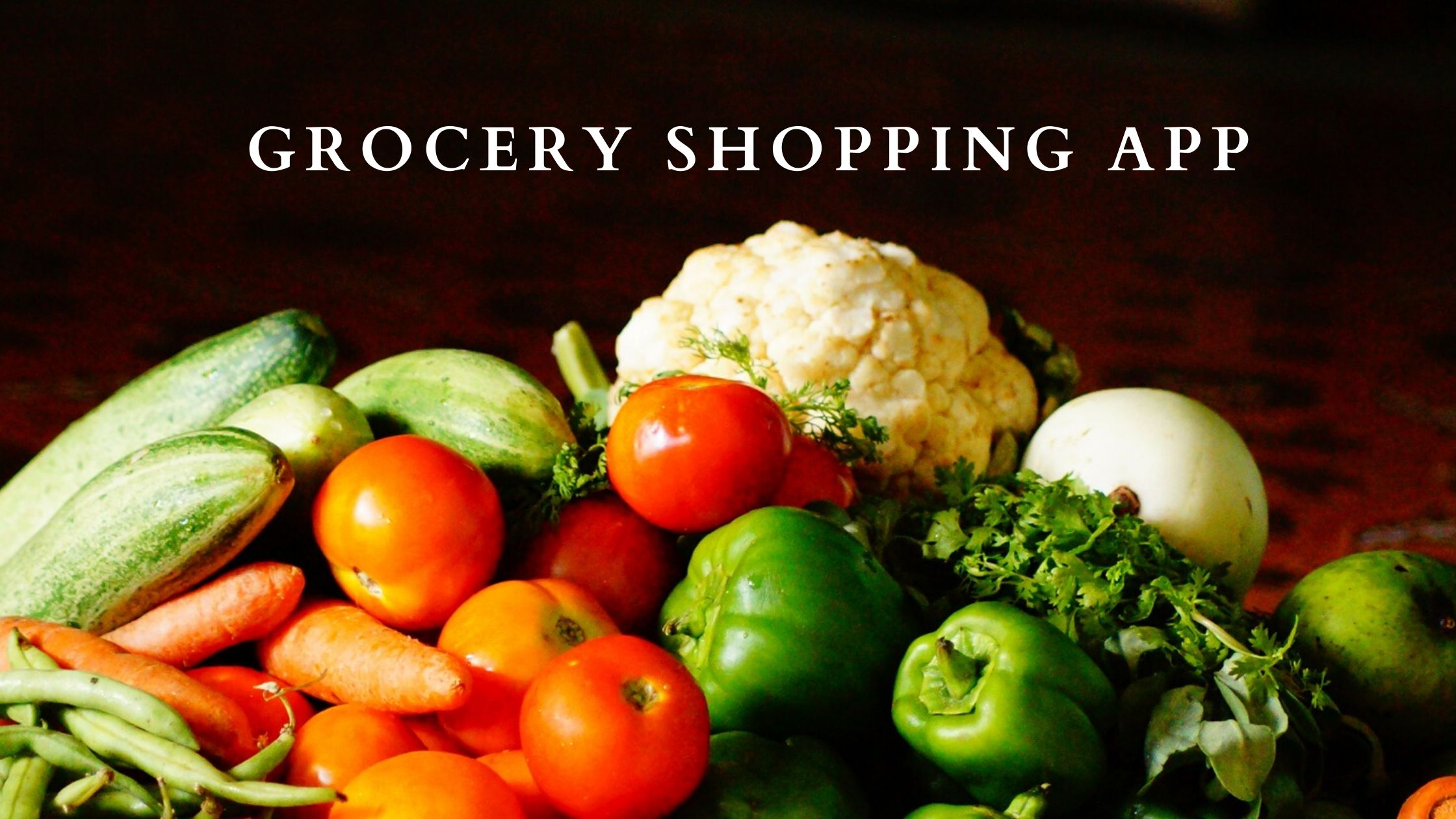 Grocery Shopping App development